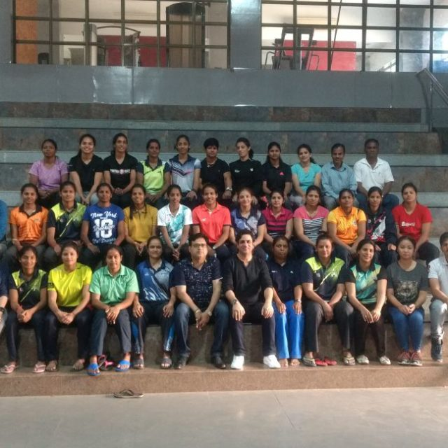 When expert Physiotherapist Dr. Aijaz Ashai trains the Kabbadi Girls!